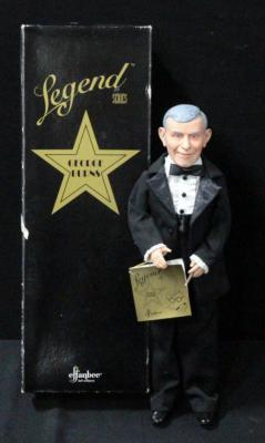 "Effenbee Doll George Burns Legends Series 16""H In Box"