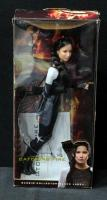 "Mattel Katniss Catching Fire Doll From Barbie Collector-Black Label 12""H In Original Box"