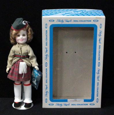 "Shirley Temple Doll By Ideal 12"" Wee Willie Winkie In Original Box"
