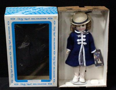 "Shirley Temple Doll By Ideal 12"" Poor Little Rich Girl In Original Box"