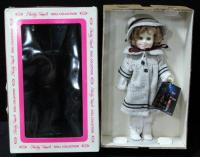 "Shirley Temple Doll By Ideal 12"" Dimples In Original Box"