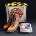 First Alert 2 In 1 Smoke And Carbon Monoxide Alarm And Justin Boots Work Boots Size 8.5C