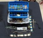 Assorted Lot Of Costume Jewelry In Plastic Tackle Box