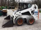 2000 Ingersoll-Rand Bobcat Model #773 Turbo Diesel, Rubber Tire,790 Hours, Includes Smooth Tooth Bucket, Regularly Garaged, Vin #519011055, THIS ITEM WILL BE AVAILABLE FOR PICK UP AT 12PM FRI MAY 3rd