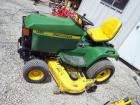 "John Deere 445 Lawn Tractor With All-Wheel Steering, 60"" Mowing Deck, 1035 Hours, ID #MOD445DO71063"