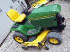 "John Deere 445 Lawn Tractor With All-Wheel Steering, 60"" Mowing Deck, Hours 1177, ID #MOD445DD60223"