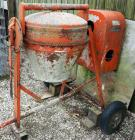 Essick Electric Pull Behind Concrete Mixer