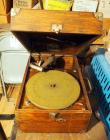 Antique Victor Talking Machine Wind Up Victrola, Model #VV-50