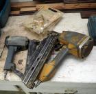 Tradesman Air Palm Nailer Model #8400, Senco And Bostitch Pneumatic Nail Guns, Qty 2, Need Repair