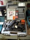 ITW Paslode Impulse, Cordless, Nailer Model #IM-325 Type 2, Includes Additional Fuel Cells, Charging Base And Carrying Case, Needs Repair
