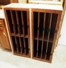 "Solid Wood File Storage Cabinets, Qty 2, 18"" x 43"" x 14"""