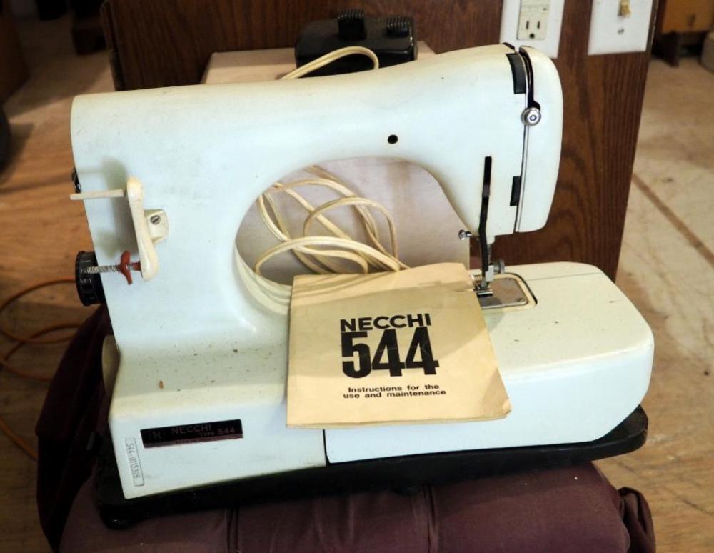 Necchi Electric Sewing Machine Model #544 Includes Manual