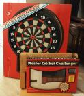 Tournament Size Digital Dart Board (Needs Repair) And Master Cricket Challenger Electric Dart Game
