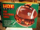 The Football Charcoal Grill, New In Box