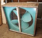 "Custom Ventilation Fan On Wheels, 40.5"" x 39"" x 16"", Exhaust Vents, 34"" x 34"", Qty 2"