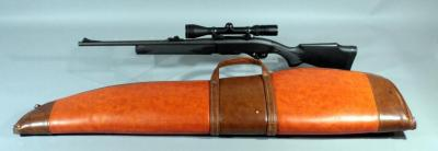 Remington 7400 30-06 SPRG SN# 88397249 With Bausch And Lomb Scope And Soft Case