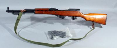 Norinco SKS 7.62 x 39 SN# 1624865 With Sling And 20 Rd Detachable Zytel Magazine and Bayonet