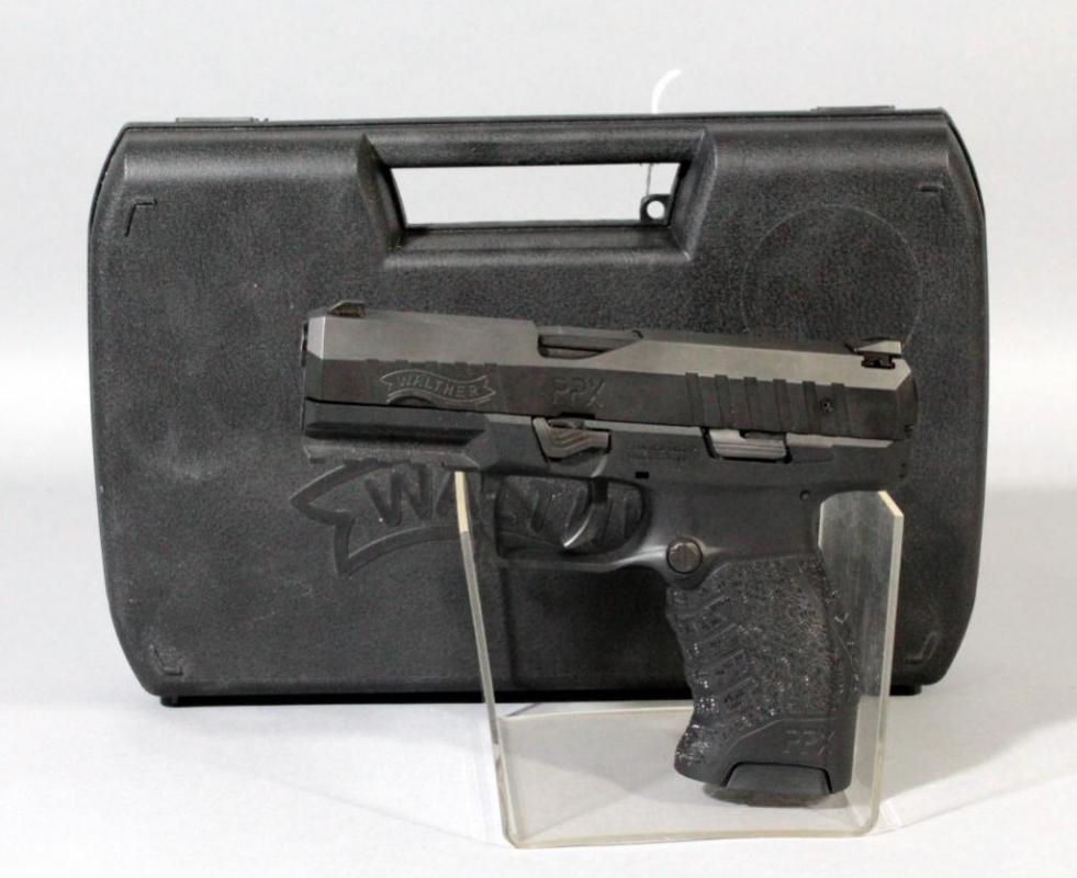 Walther PPX 9mm Pistol SN# DE BD FAQ 8425 With Extra Magazine And
