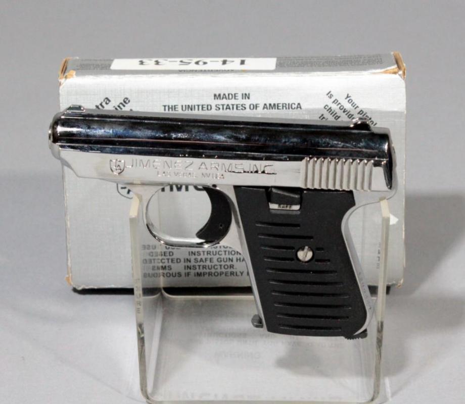 Jimenez Arms JA 22  22LR Pistol SN# 1206228 With Paperwork In Box