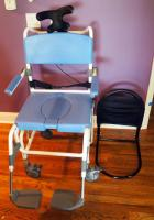 EZee Life Shower Commode Chair Model #195