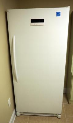"Frigidaire Upright Freezer With Digital Display Model #LFFH21F7HWJ, 71.5"" x 32"" x 31"","