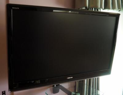 "42"" Toshiba Regza TV Including Remote And Table Base, Table And Wall Mount Not Included"