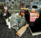 Worley Pop Stove top Pop Corn Maker, Kilner Butter Churn, 1 Cup Coffee grinder, Digital Food Scale And More