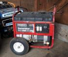 Generac Gas Powered Generator 5500 Running Watts, 8500 Starting Watts, Has Small Fuel Leak