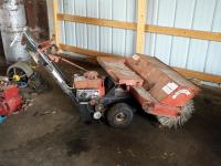 Blackwell Berner Co Gas Powered, Power Roof Broom, Model #S436-1-3