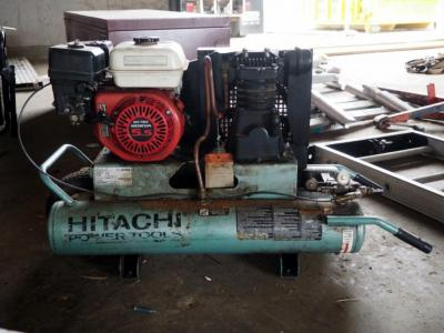 Hitachi, Rolling, Duel Tank, Gas Powered, Air Compressor, Model #EC25E, Needs Repair