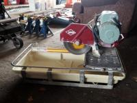 MK Diamond Products, Tile Saw Model #MK101