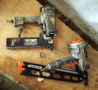 Paslode Powermaster Plus Pneumatic Nail Gun, Model # F350S And Duo-Fast Pneumatic Stapler Model #MS-7664B, Needs Repair