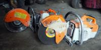 Stihl TS400 Cut Off Saw And TS350 Super Cut Off Saw, Both Needs Repair