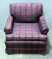 "Easy Chair With Removable Seat Cushion And Back Cushion 31""W x 28""H x 34""D, Matches Lot 21"