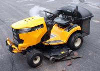 "2015 Cub Cadet XT2 Enduro Series Lawn Tractor, 46"" Deck, Model 13WQA4CN010, 116 HRS, Includes Oil And Filter for Next Oil Change, Blades And Tire Chains"