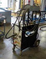 Miller 200 Volt Electric Wire Welder Includes Welding Gun And Rolling Cart