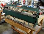 Tennsmith 48-1/4 Inch Bending Length, Bench Machine Box and Pan Brake, Bidder Responsible For Proper Removal, Bolted To Table