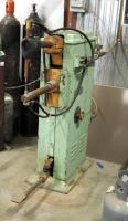 Heavy Duty Rex Electric Spot Welder, 220 Volt, Serial #7599, Bidder Responsible For Proper Removal, Hard Wired To Breaker Box