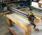 "37"" Rotary Press, No Manufacturer Mark, Bidder Responsible For Proper Removal, Bolted To Table"