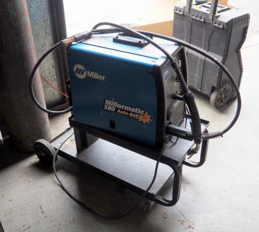 Incredible Miller 230 Volt Wire Welder Millermatic 180 Includes Prostar Mig Wiring Cloud Hisonuggs Outletorg