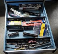 Drill Bits, Allen Wrenches, Torque Keys, Extractor Set And More, Contents Of Drawer
