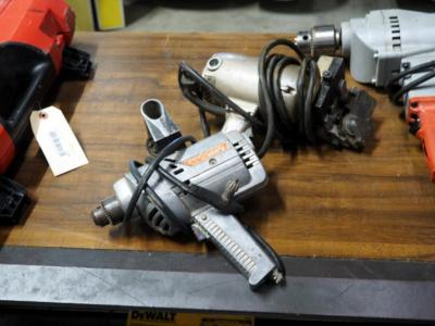 Vintage Power House Electric Drill And A Engerson Brand Pittsburgh Lock Roller