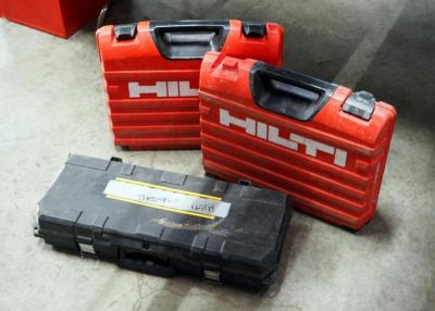 Hilti Tool Cases And DeWalt Tool Case