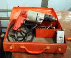 "Milwaukee 3/8"" Hammer Drill Includes Assorted Drill Bits And Carrying Case"