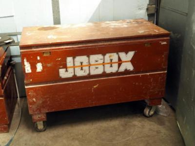 "Steel Rolling Jobox, 33"" x 48"" x 24"""