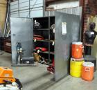 "Metal Storage Cabinet, 75"" x 72"" x 24"", Contents Not Included"