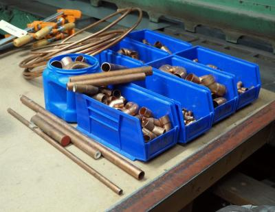 Copper Pipe, Elbows, Connectors, Wire, Tubing And More
