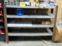 "Custom Storage Shelf With 4 Shelves, 38"" x 47"" x 14.5, Contents Not Included"