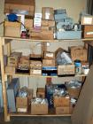 Electrical Breaker Boxes, Conduit Couplings, Outlet And Switch Boxes, Brackets, Crush Clamps, Fuses And More Contents Of 3 Shelves
