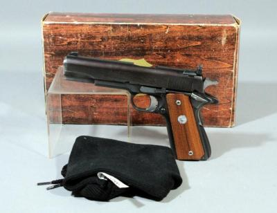 Colt 1911 Mark IV Series 70 Government Model Pistol, .45 Auto, SN# 48157G70 With Original Box